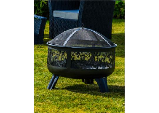 Fire Pits with Design and Sides