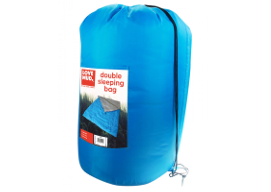 Double Polyester Camping Sleeping Bag