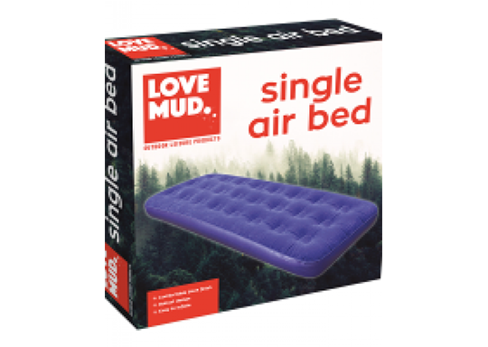 Single Inflatable Camping Air Bed