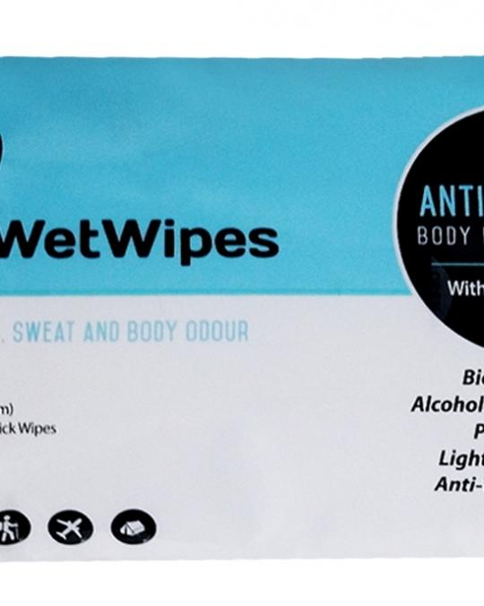 Antibacterial, Camping Body Hygiene Wipes (pack of 12 XL Biodegradable wipes)